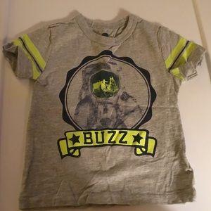 """Gap Boys Gray """"BUZZ"""" Short Sleeve Tee Size 18-24m"""
